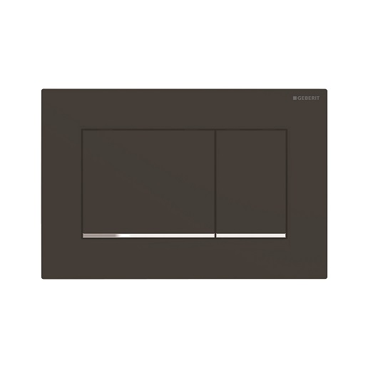 Смывная клавиша Geberit Sigma30 115.883.14.1 (матовый черный, с легкоочищаемой поверхностью)