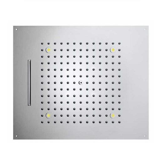 Верхний душ Bossini Dream-2 Cromotherapy H38905 CR (570х470 мм)