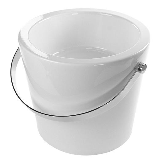 Раковина накладная Scarabeo Bucket 40 8803 (⌀ 405 мм)