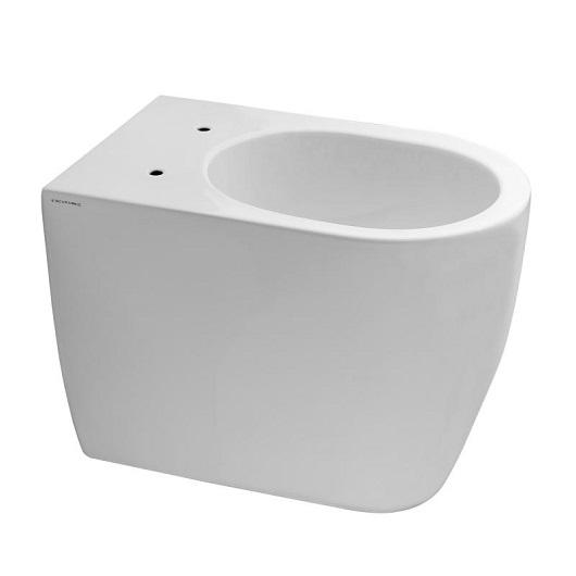 Чаша приставного унитаза Scarabeo Moon Clean Flush 5522/CL безободковая