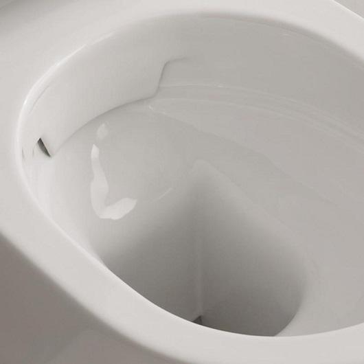 Чаша подвесного унитаза Scarabeo Moon 45 Clean Flush 5524/CL безободковая