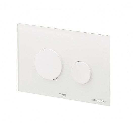 Смывная клавиша TOTO Neorest E00003T (белое стекло)