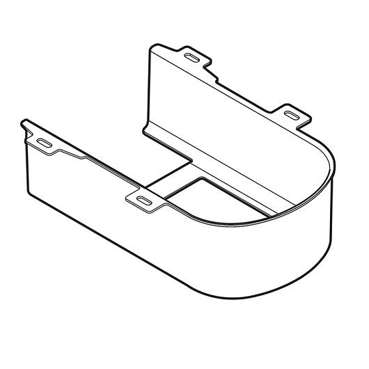 Декоративная панель для унитаза TOTO SG 9AE0017 (белая)