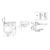 Унитаз-биде напольный TOTO MH Washlet TCF4732G#NW1/CW161Y#XW/SW10044G1#W