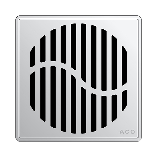 Декоративная решетка Aco ShowerPoint Волна 5141.08.28
