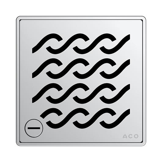 Декоративная решетка Aco ShowerPoint Гавайи 5141.21.29 (с замком)