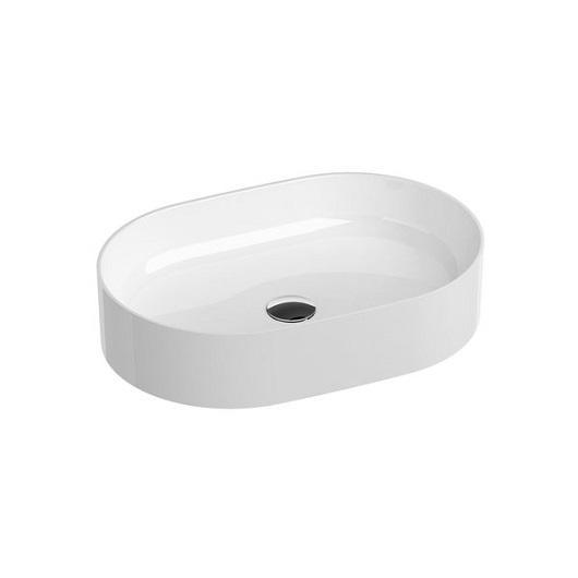 Раковина накладная Ravak Ceramic O Slim XJX01155001 (550х370 мм)