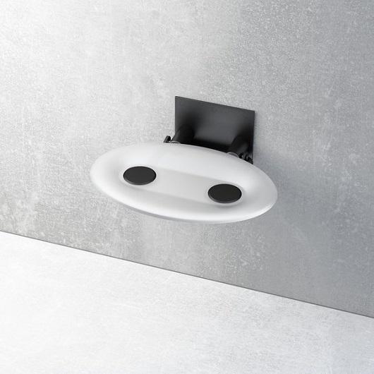 Сиденье для душа Ravak Ovo-P Opal/Black B8F0000043