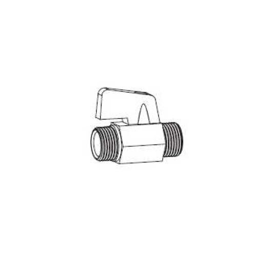 Вентиль для подключения воды TOTO Washlet RX/SX SHXCK99 (3/8)