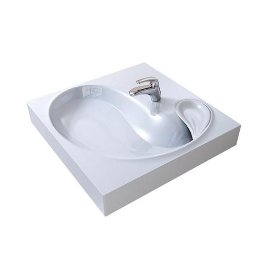 Раковина для установки над стиральной машиной Raval Buta 60 5211600  (605х600 мм)