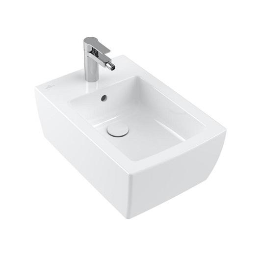 Биде подвесное Villeroy & Boch Memento 2.0 443300RW (443300RW) Stone White, CeramicPlus