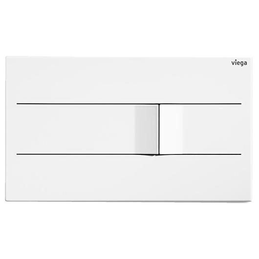 Панель смыва Viega Prevista Visign for More 201 773502 (белый) электронная