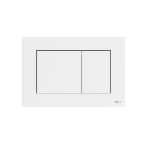 Панель смыва TECE TECEnow 9240405 (белая) с антибактериальным покрытием