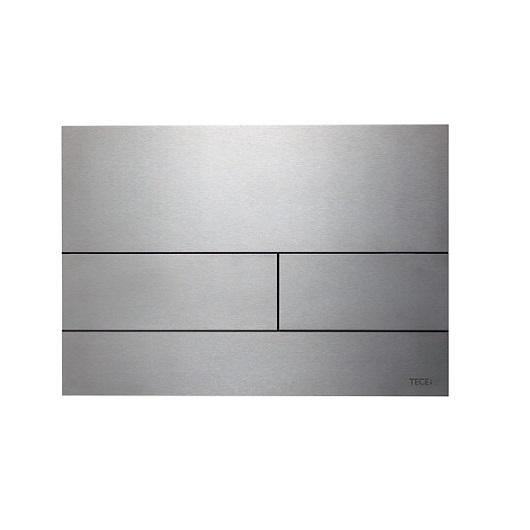 Металлическая панель смыва TECE TECEsquare ll 9240830 (сатин) с покрытием против отпечатков пальцев