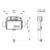 Смывной бачок скрытого монтажа TECE TECEbox 9041008 (9041308) (глубина 13 см)