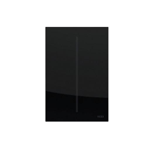 Электронная панель смыва для писсуара TECE TECEfilo 9242063 (черное стекло), питание от батареи 7,2 В