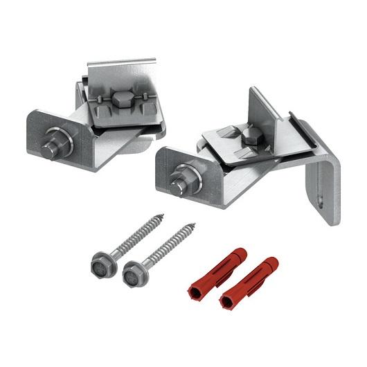 Комплект крепления к стене TECE TECEprofil 9380003 для произвольного углового монтажа