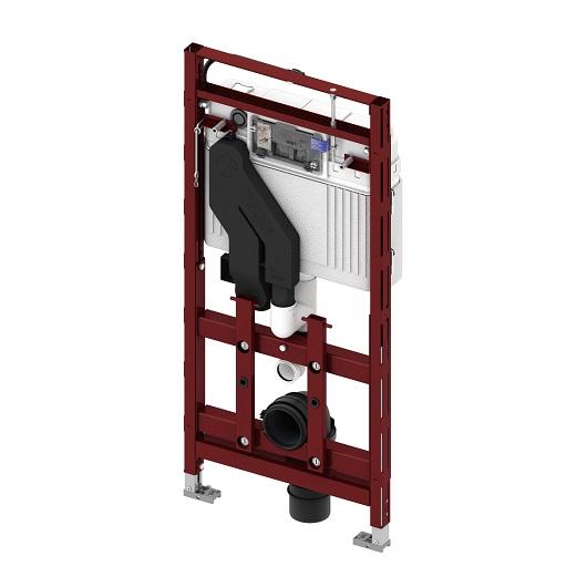 Инсталляция для подвесного унитаза TECE TECElux 400 9600400 с регулировкой высоты и системой очистки воздуха