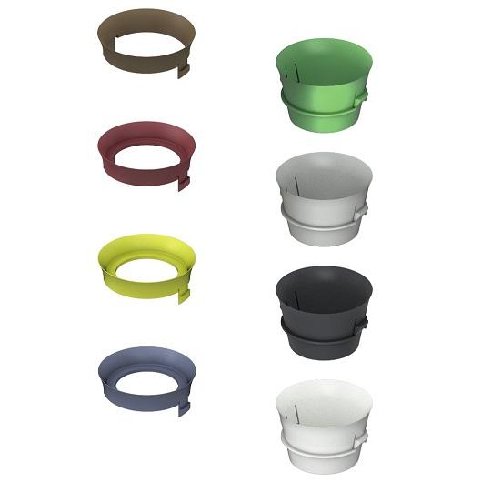 Комплект ограничительных колец TECE TECEprofil 9820337 для изменения скорости смыва (для бачков глубиной 13 см)