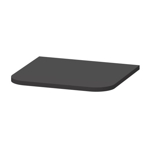 Верхняя панель для шкафа Duravit Happy D.2 Plus HP030008080 (403×364 мм, Graphit Super Matt)