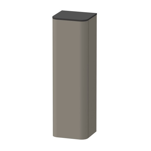 Шкаф высокий Duravit Happy D.2 Plus HP1261R9292 правый (400x360x1336 мм, Stone Grey Satin Matt)