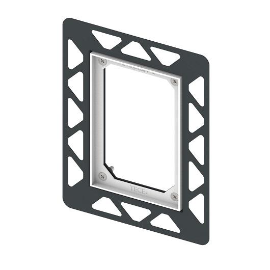 Монтажная рамка TECE TECEfilo 9242042 для установки панелей смыва на уровне стены (черная)