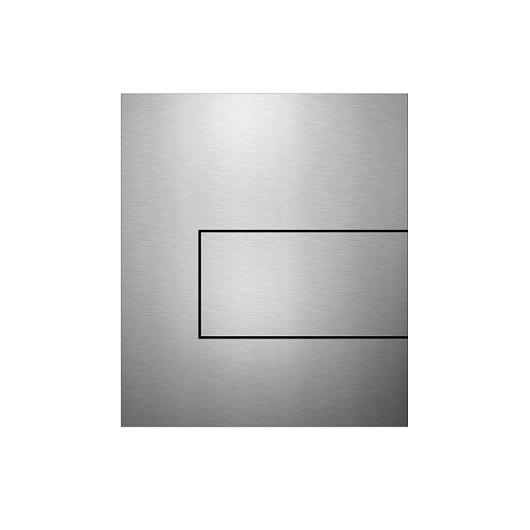 Металлическая панель смыва TECE TECEsquare 9242810 (сатин) с покрытием против отпечатков пальцев