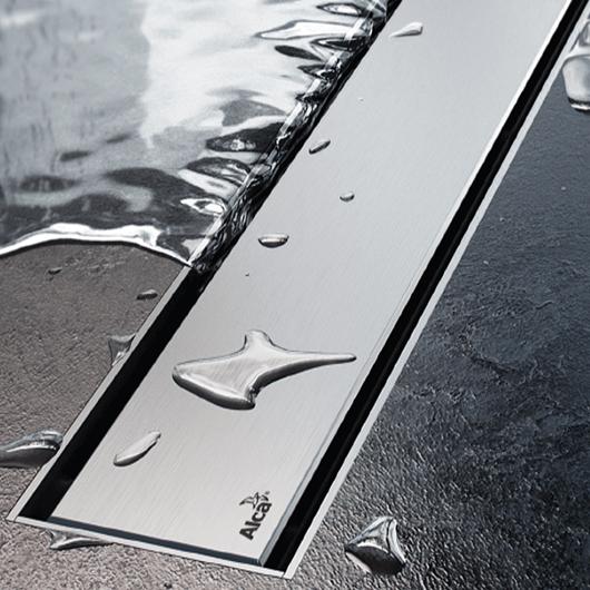 Декоративная решетка AlcaPlast DESIGN-950LN (950 мм) глянцевая