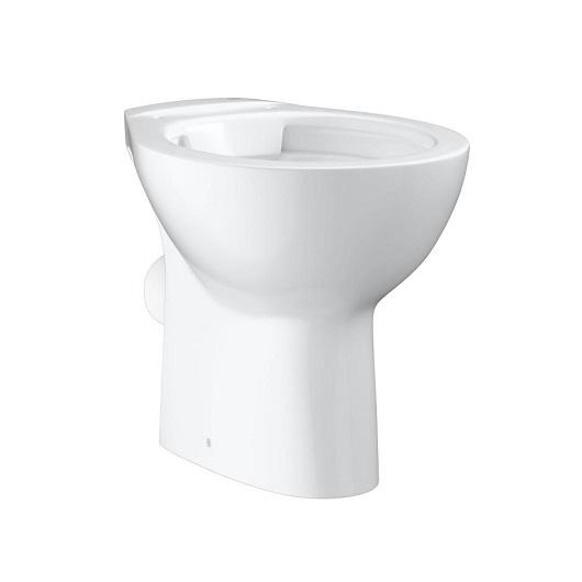 Чаша приставного унитаза Grohe Bau Ceramic 39430000 безободковая