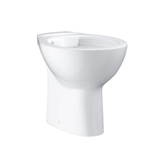 Чаша приставного унитаза Grohe Bau Ceramic 39431000 безободковая (вертикальный выпуск)