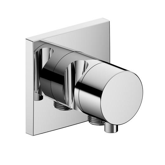 Запорный вентиль Keuco IXMO с выпуском для шланга с переключателем на 2 потребителя 59557 011202