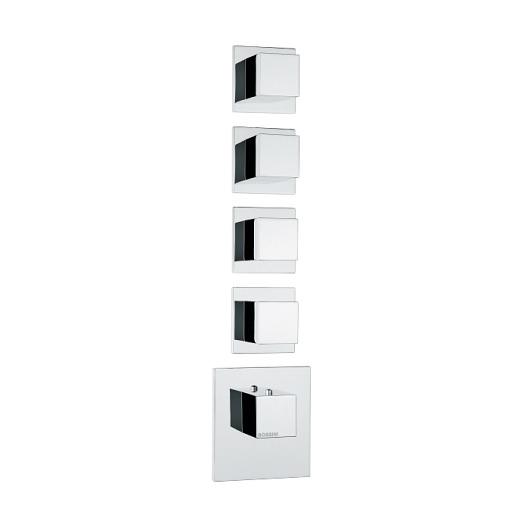 Термостат Bossini Cube Z032208 CR (хром глянцевый)