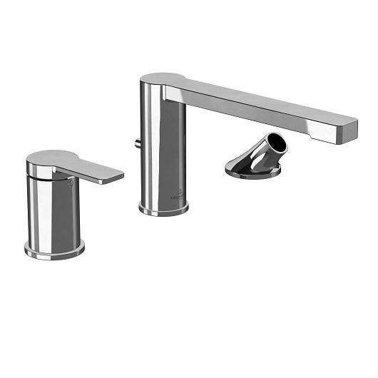 Смеситель на борт ванны Villeroy & Boch Architectura TVT10300100061 без ручного душа