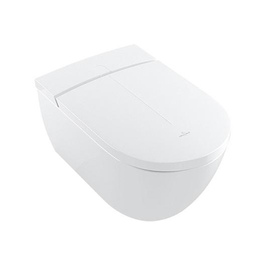 Унитаз-биде подвесной Villeroy & Boch ViClean-I 100 V0E100R1 (V0E1 00 R1) CeramicPlus, DirectFlush