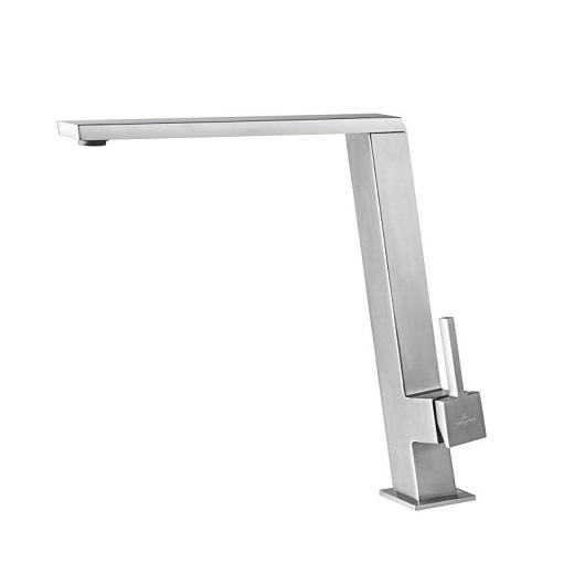 Смеситель для кухни Villeroy & Boch Finera Square Slope 927700LC (Stainless Steel)