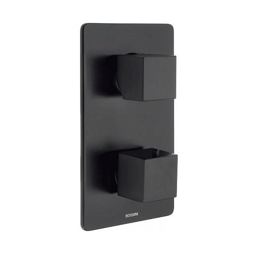 Термостат Bossini Cube Z00061 Black Matt (черный матовый)