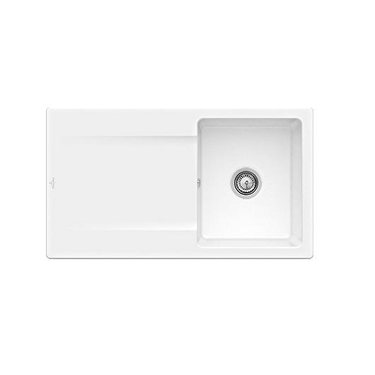 Кухонная мойка Villeroy & Boch Siluet 50 333501R1 (3335 01 R1) CeramicPlus (900×510 мм)