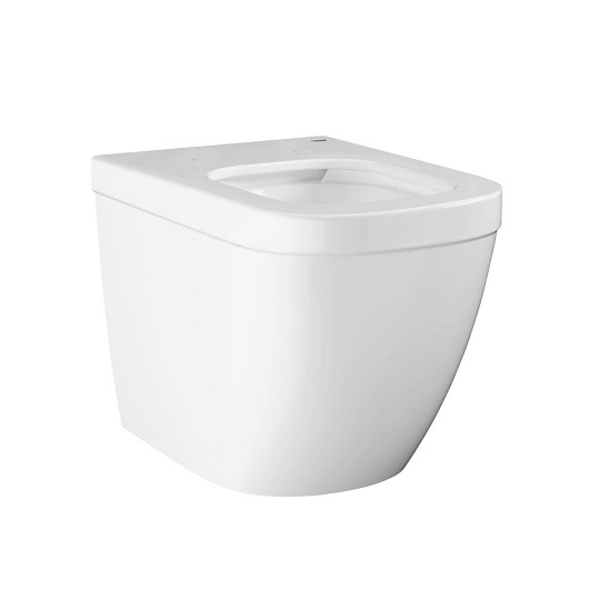 Чаша приставного унитаза Grohe Euro Ceramic 3933900H безободковая