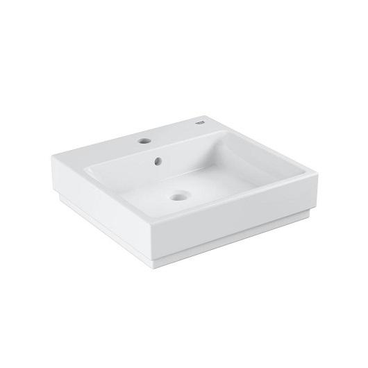 Раковина накладная Grohe Cube Ceramic 3947800H (500х490 мм)