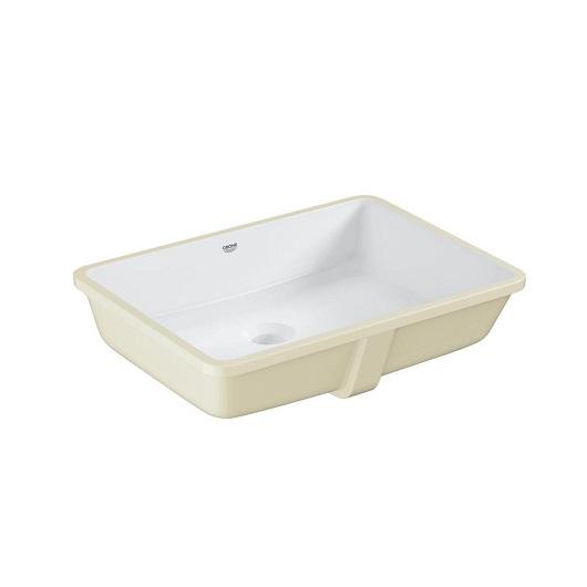Раковина встраиваемая снизу Grohe Cube Ceramic 3948000H (492х370 мм)