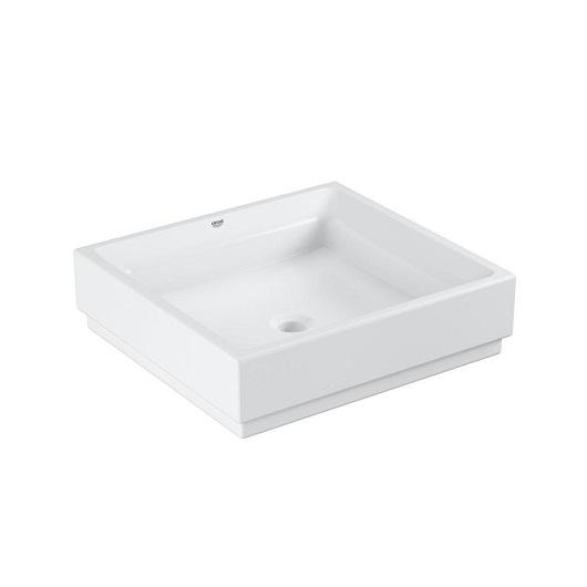 Раковина накладная Grohe Cube Ceramic 3948100H (500х470 мм)
