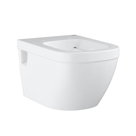Чаша подвесного унитаза Grohe Euro Ceramic 39538000 безободковая