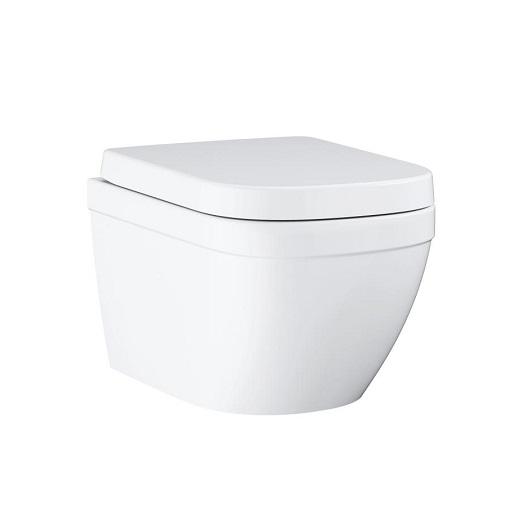 Унитаз подвесной Grohe Euro Ceramic 39554000 безободковый