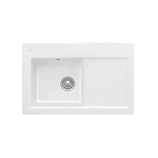 Кухонная мойка Villeroy & Boch Subway 45 677201R1 (6772 01 R1) CeramicPlus (780×510 мм)