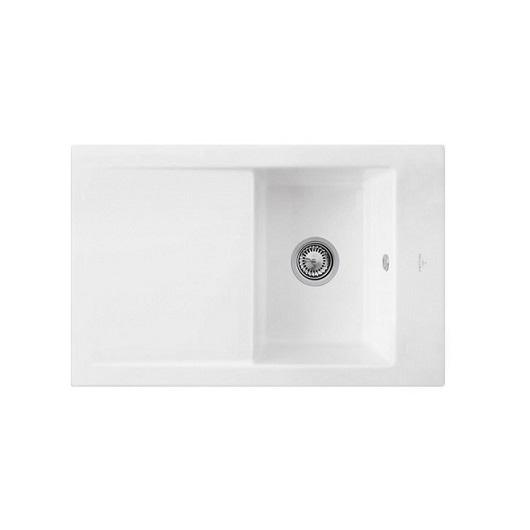 Кухонная мойка Villeroy & Boch Timeline 45 679101R1 (6791 01 R1) CeramicPlus (800×510 мм)
