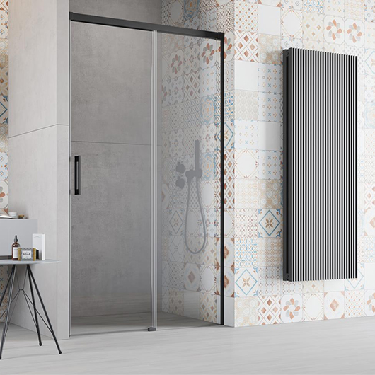 Душевая дверь Radaway Idea Black DWJ 160 R правая (1600х2005 мм) профиль черный/стекло прозрачное 387020-54-01R