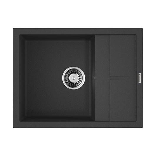Мойка кухонная Omoikiri Sumi 65 BL 4993670 (черный, 650х500 мм)