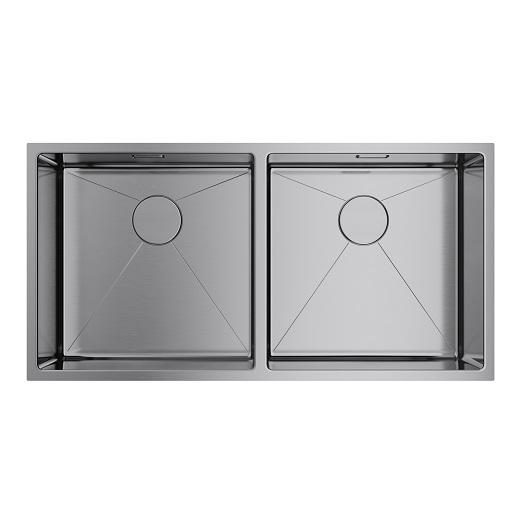Мойка кухонная Omoikiri Taki 86-2-U/IF IN 4993791 (нержавеющая сталь, 865х440 мм)