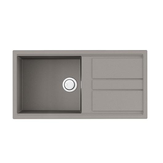 Мойка кухонная Omoikiri Kitagawa 100 GR 4993788 (ленинградский серый, 1000х510 мм)