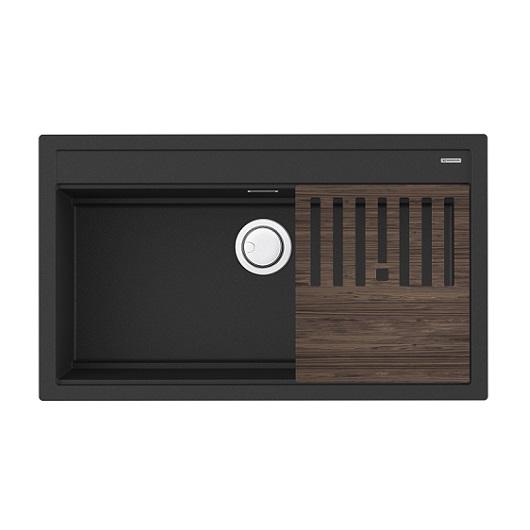 Мойка кухонная Omoikiri Kitagawa 86-LB GB 4993794 (графит, 860х510 мм)